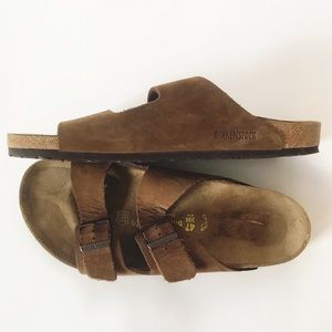 NWOB Men's Birkenstock Brown Size 14